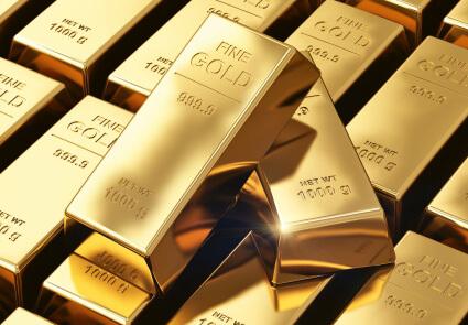 Stacks of 1000G Fine Gold
