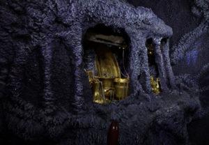 Hidden Gold Treasure within Dark Caves