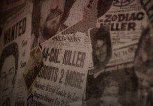 Newspaper Clippings of Serial Killers